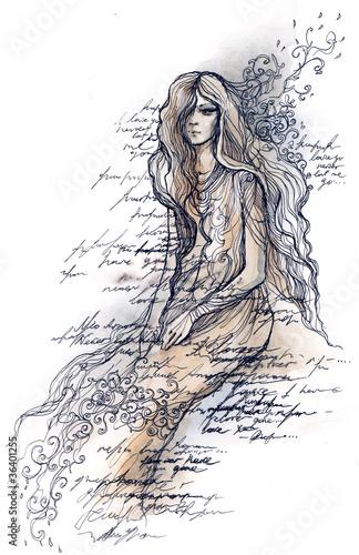 beutiful woman (series C)