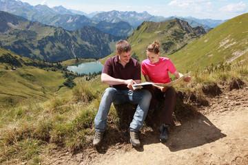 Orientierung in den Alpen