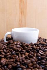 Montaña de café