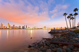 San Diego at night - Fine Art prints