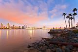 Fototapety San Diego at night