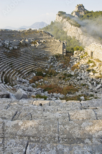 Thermessos archaeological ruins, Turkey
