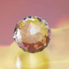 colorful diamond ball