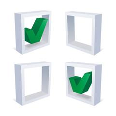 チェックボックスグリーン