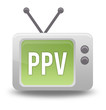 "Cartoon-style TV Icon with ""PPV"" wording on screen"