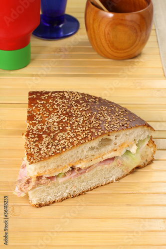 Panino ripieno - Bread stuffed