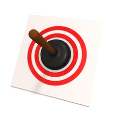 toilet plunger in red target