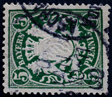 POST STAMP BAYERN