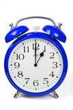 Wecker 1 Uhr / One a clock  - blau / blue