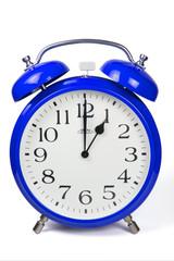 Wecker 1 Uhr / One a clock  - blau / blue