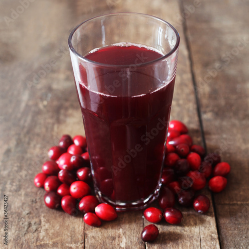 Leinwandbild Motiv Cranberry Juice
