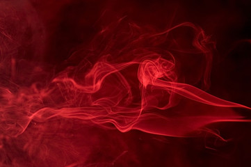 red smoke detail