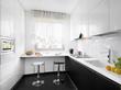 cucina moderna laminato bianco