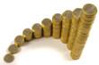 Euro Geld Stapel