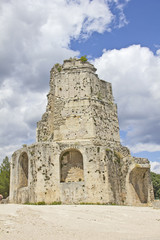 Roman tower in Nimes