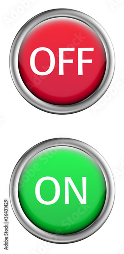 off-on button