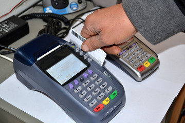 Strisciata carta credito