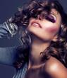 Fashion Beauty Portrait. Vogue Style