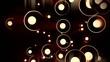 Abstract Dots - 10 - Sepia
