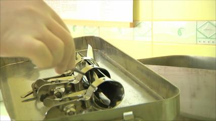 стерилизация инструментов после операции
