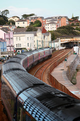 Approaching Dawlish Station