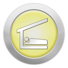 "Light Colored Icon (Yellow) ""Sleeping Shelter"""