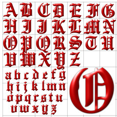 abc alphabet background english towne design