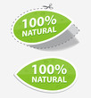 natural green labels