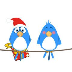 regalo natalizio a sorpresa - uccellini