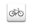 Boton cuadrado blanco simbolo bicicleta
