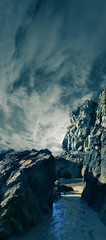 rochers bord de mer