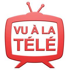 """Icône """"Vu à la Télé"""""""