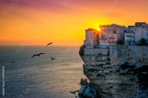 Leinwandbild Motiv Bonifacio, Corse