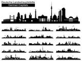 Skyline deutscher Landeshauptstädte