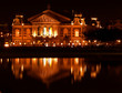 Architecture: night photography Amsterdam