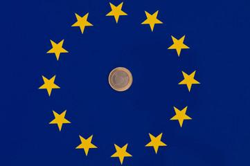euro mit flagge