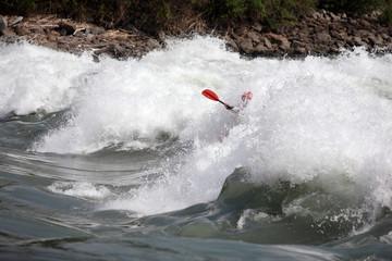Kayak de vague