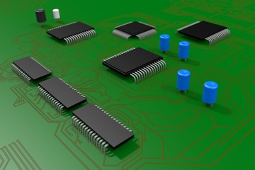 3D Circuit Board / Mother board