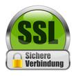 SSL Sichere Verbindung Button