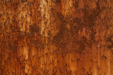 Background of rust