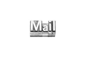bottone mail caratteri tipografici