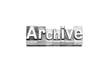 bottone archive caratteri tipografici