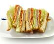 Turkey Or Ham Club Sandwich