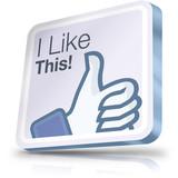Facebook i like button