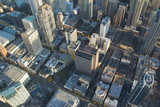 Fototapety Aerial View - Seattle Downtown