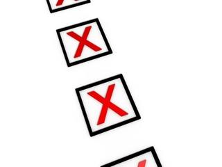 3d Rendering Kreuze rot