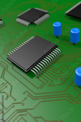 3D Mother Board / Chip