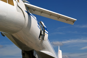 The Tupolev Tu-144 (NATO name: Charger)