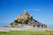 Leinwanddruck Bild - Mont Saint Michel