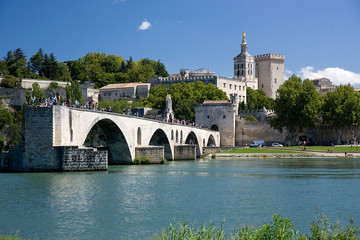 The Bridge at Avignon, France